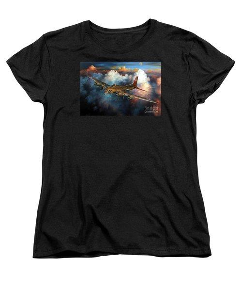 Last Flight For Nine-o-nine Women's T-Shirt (Standard Cut) by Randy Green