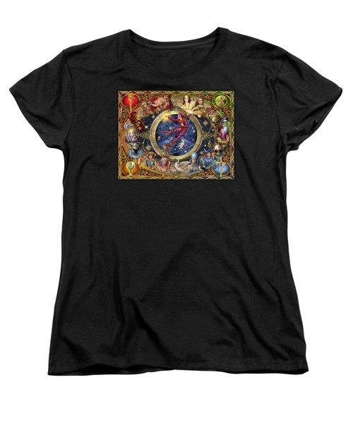 Legacy Of The Divine Tarot Women's T-Shirt (Standard Cut) by Ciro Marchetti