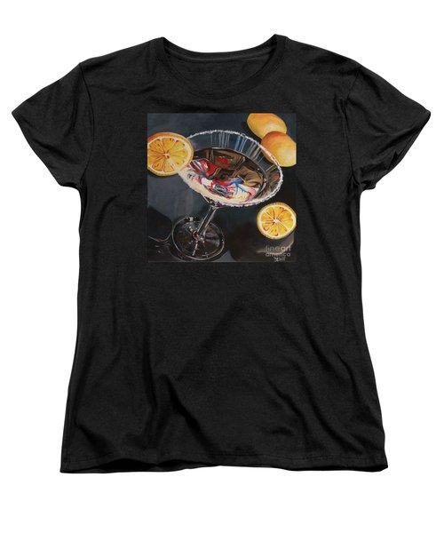 Lemon Drop Women's T-Shirt (Standard Cut) by Debbie DeWitt