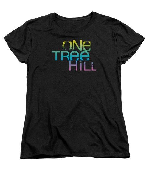 One Tree Hill - Color Blend Logo Women's T-Shirt (Standard Cut) by Brand A