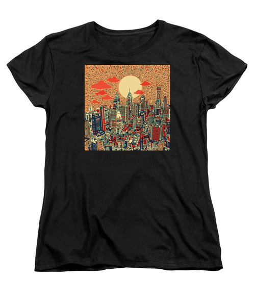 Philadelphia Dream Women's T-Shirt (Standard Cut) by Bekim Art