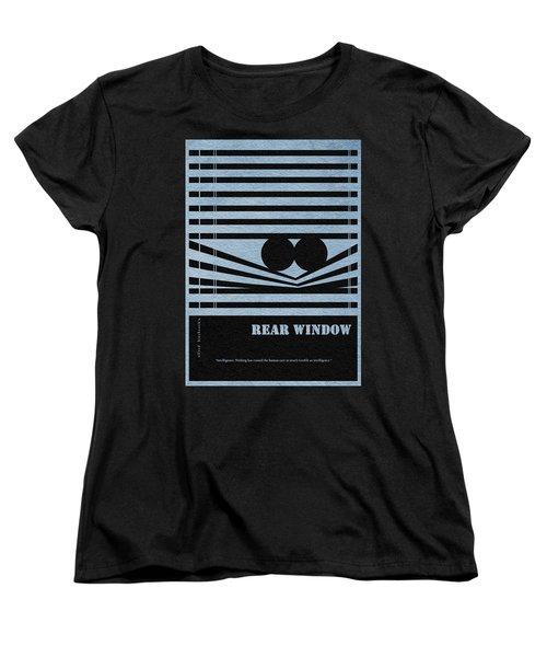 Rear Window Women's T-Shirt (Standard Cut) by Ayse Deniz