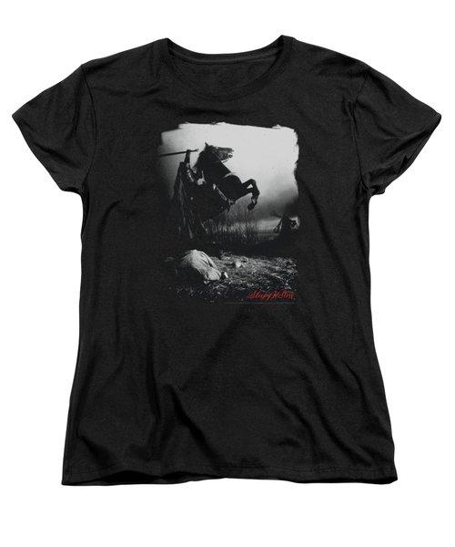 Sleepy Hollow - Foggy Night Women's T-Shirt (Standard Cut) by Brand A