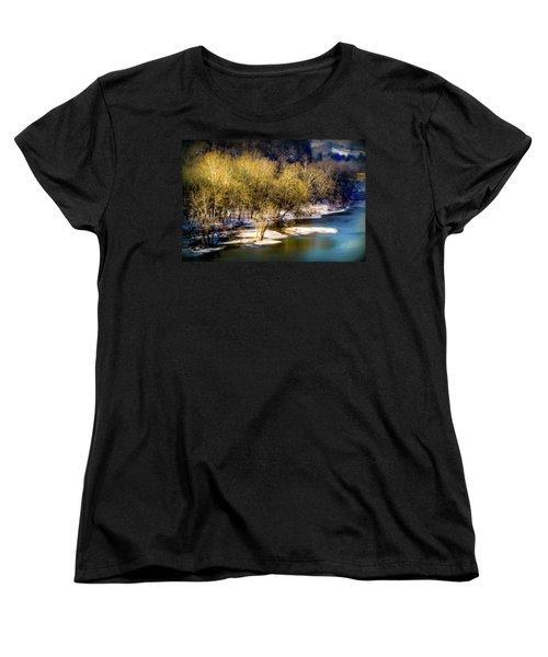 Snowy River Women's T-Shirt (Standard Cut) by Karen Wiles