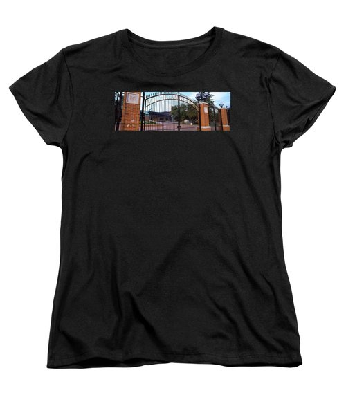 Stadium Of A University, Michigan Women's T-Shirt (Standard Cut) by Panoramic Images