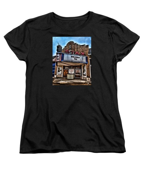 Stax Records Women's T-Shirt (Standard Cut) by Stephen Stookey
