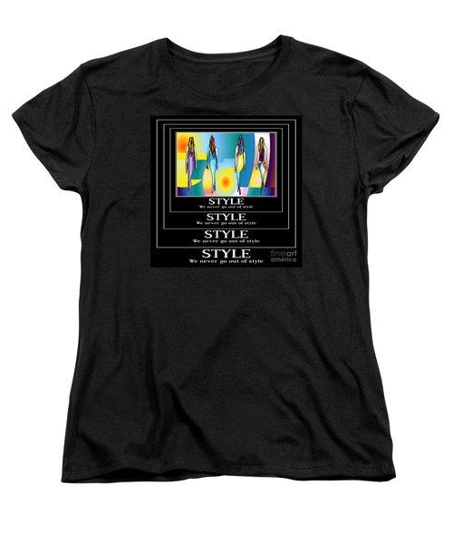 Style Women's T-Shirt (Standard Cut) by Kim Peto