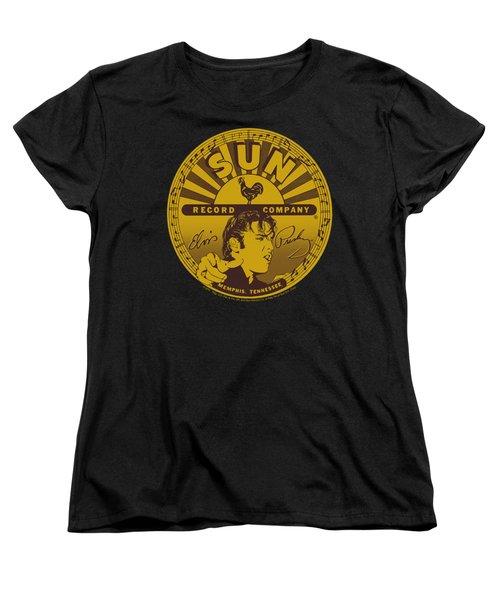 Sun - Elvis Full Sun Label Women's T-Shirt (Standard Cut) by Brand A