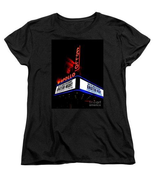 The Apollo Theater Women's T-Shirt (Standard Cut) by Ed Weidman