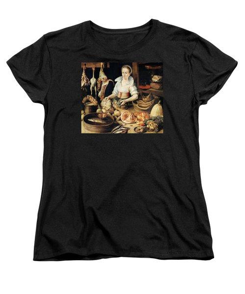 The Cook Women's T-Shirt (Standard Cut) by Pieter Cornelisz van Rijck