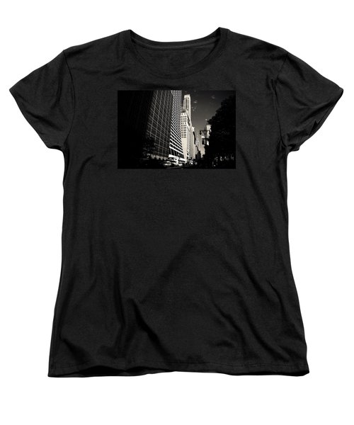 The Grace Building And The Chrysler Building - New York City Women's T-Shirt (Standard Cut) by Vivienne Gucwa