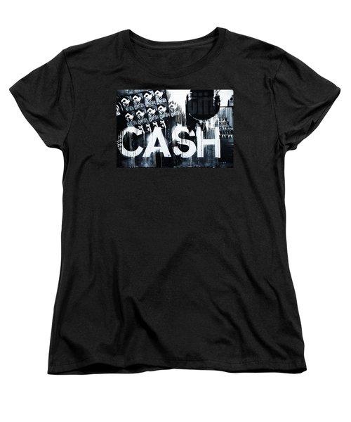 The Man In Black Women's T-Shirt (Standard Cut) by Dan Sproul