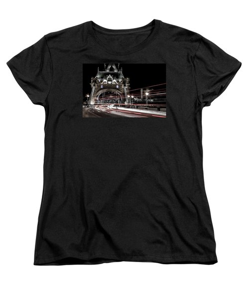 Tower Bridge London Women's T-Shirt (Standard Cut) by Martin Newman
