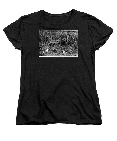 Bird Shooting, 1886 Women's T-Shirt (Standard Cut) by Granger