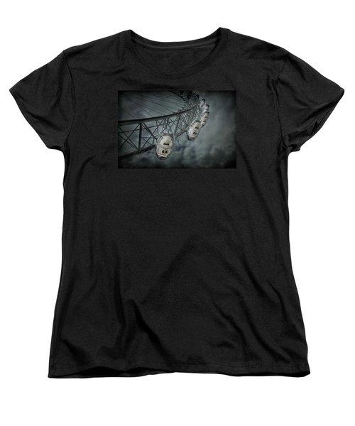 More Then Meets The Eye Women's T-Shirt (Standard Cut) by Evelina Kremsdorf