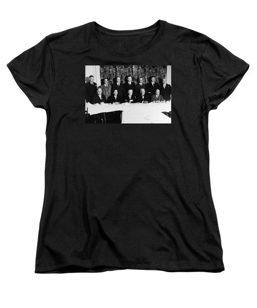 Sports Luncheon, 1930 Women's T-Shirt (Standard Cut) by Granger