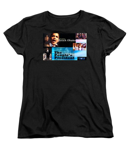 The People's President Women's T-Shirt (Standard Cut) by Terry Wallace