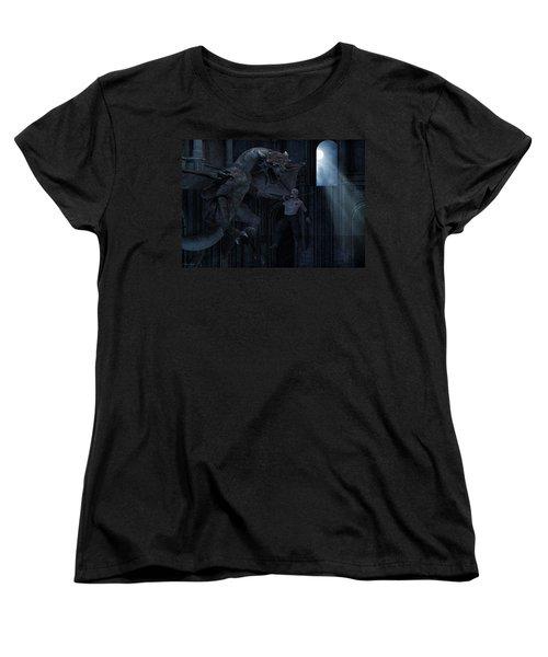 Under The Moonlight Women's T-Shirt (Standard Cut) by Lourry Legarde