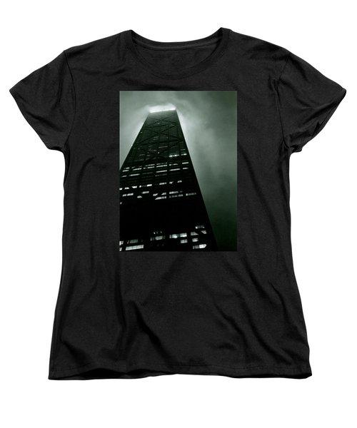 John Hancock Building - Chicago Illinois Women's T-Shirt (Standard Cut) by Michelle Calkins