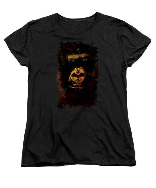 Mighty Gorilla Women's T-Shirt (Standard Cut) by Jaroslaw Blaminsky