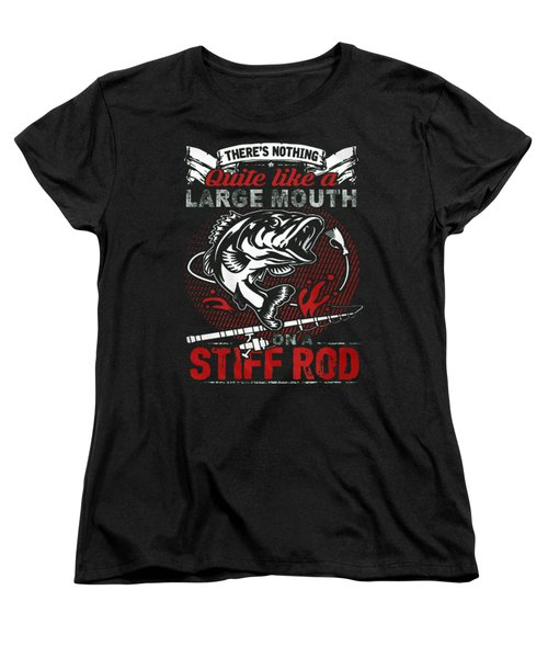 Fishing Women's T-Shirt (Standard Cut) by Thucidol