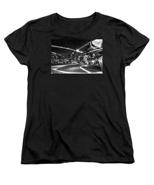 Millennium Park Women's T-Shirt (Standard Cut) by Sebastian Musial