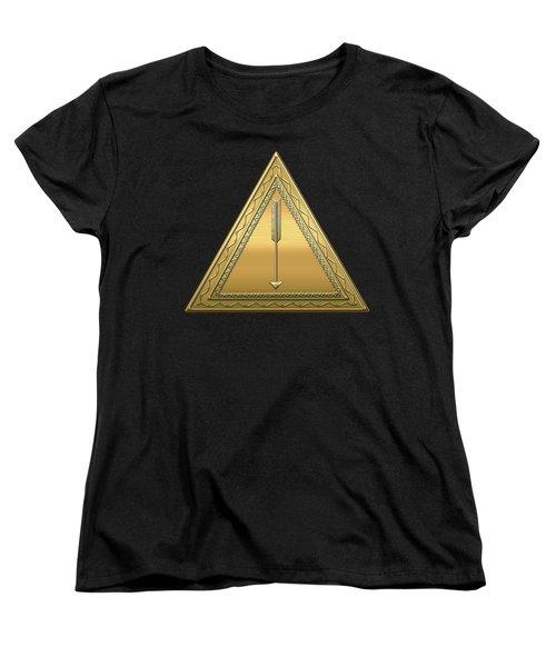 21st Degree Mason - Noachite Or Prussian Knight Masonic  Women's T-Shirt (Standard Cut) by Serge Averbukh