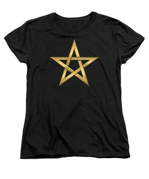 28th Degree Mason - Knight Commander Of The Temple Masonic  Women's T-Shirt (Standard Cut) by Serge Averbukh