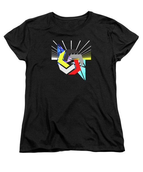 Abstract Space 6 Women's T-Shirt (Standard Cut) by Russell K