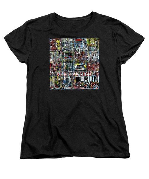 Achtung Baby Women's T-Shirt (Standard Cut) by Frank Van Meurs