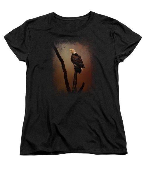 After The Autumn Storm Women's T-Shirt (Standard Cut) by Jai Johnson