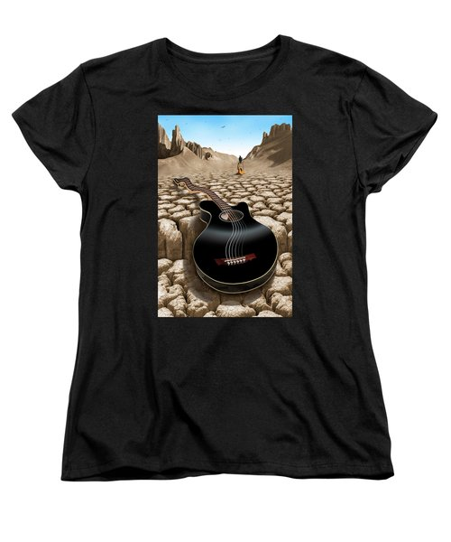 An Acoustic Nightmare 2 Women's T-Shirt (Standard Cut) by Mike McGlothlen