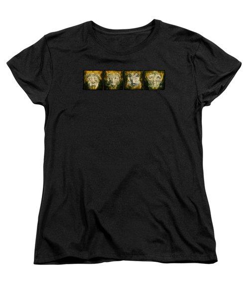 The Lineup Women's T-Shirt (Standard Cut) by Terry Fleckney