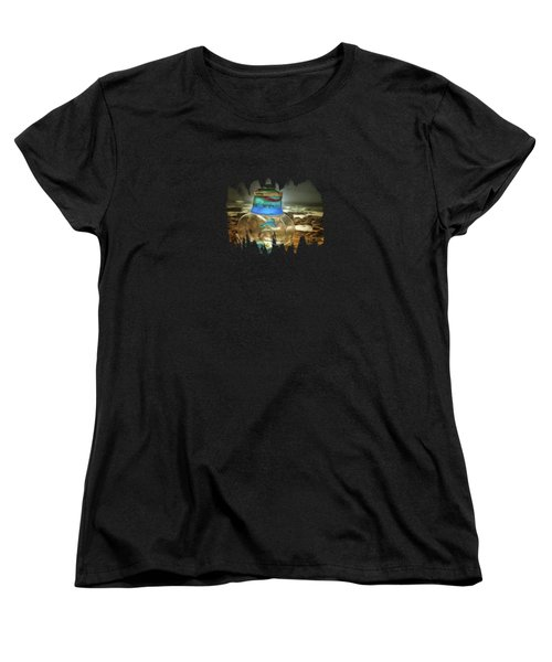 Beach Treasures Women's T-Shirt (Standard Cut) by Thom Zehrfeld
