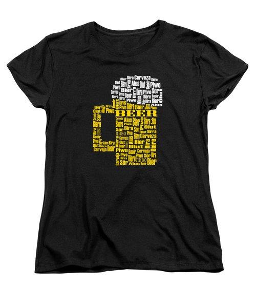 Beer  Women's T-Shirt (Standard Cut) by Shirley Radabaugh