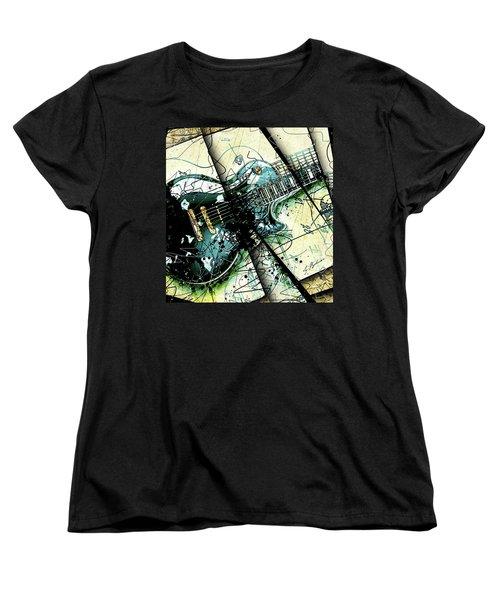 Black Beauty C 1  Women's T-Shirt (Standard Cut) by Gary Bodnar