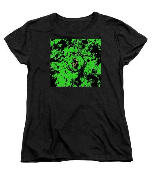Boston Celtics 1b Women's T-Shirt (Standard Cut) by Brian Reaves