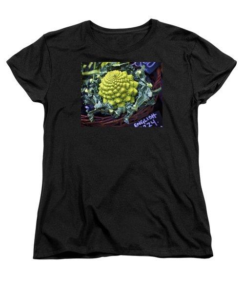 Brassica Oleracea Women's T-Shirt (Standard Cut) by Heather Applegate