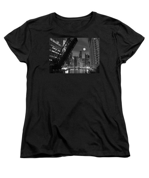 Chicago Pride Of Illinois Women's T-Shirt (Standard Cut) by Frozen in Time Fine Art Photography