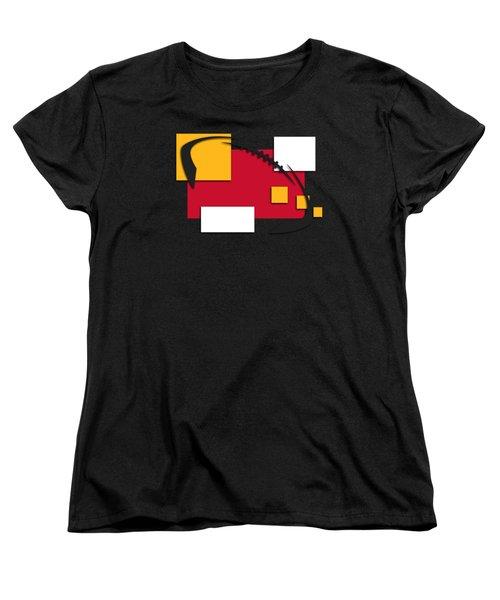 Chiefs Abstract Shirt Women's T-Shirt (Standard Cut) by Joe Hamilton