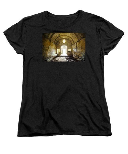 Church Ruin Women's T-Shirt (Standard Cut) by Carlos Caetano