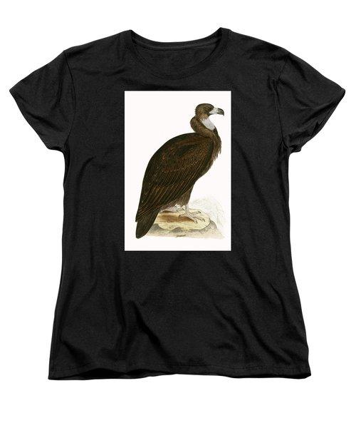 Cinereous Vulture Women's T-Shirt (Standard Cut) by English School