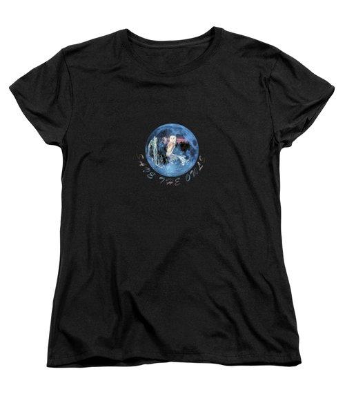 City Lights Women's T-Shirt (Standard Cut) by Valerie Anne Kelly