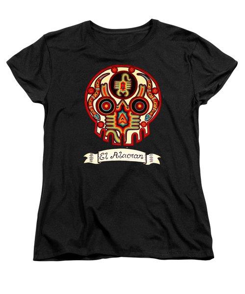 El Alacran - The Scorpion Women's T-Shirt (Standard Cut) by Mix Luera