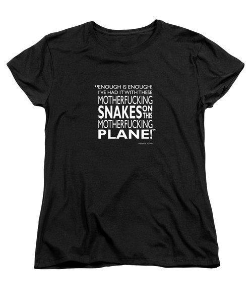Enough Is Enough Women's T-Shirt (Standard Cut) by Mark Rogan