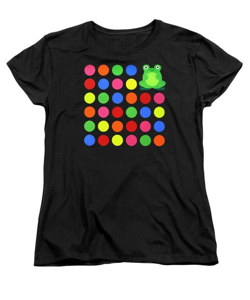 Discofrog Remix Women's T-Shirt (Standard Cut) by Oliver Johnston