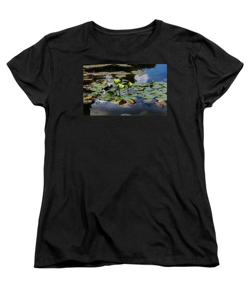 Floating Women's T-Shirt (Standard Cut) by Linda Foakes