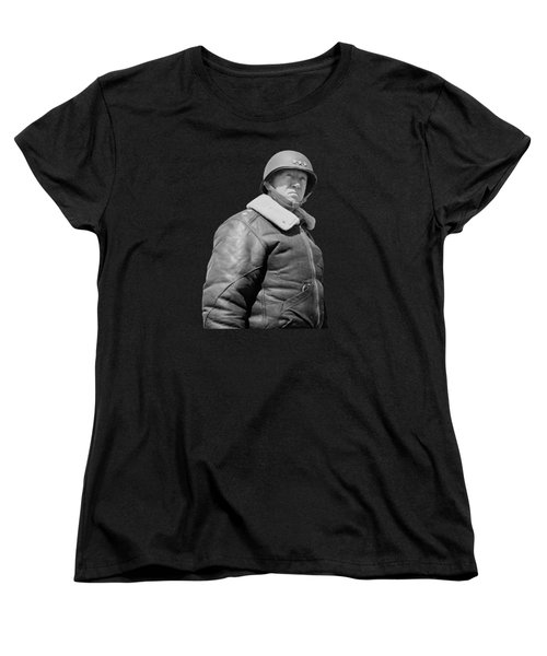 General George S. Patton Women's T-Shirt (Standard Cut) by War Is Hell Store