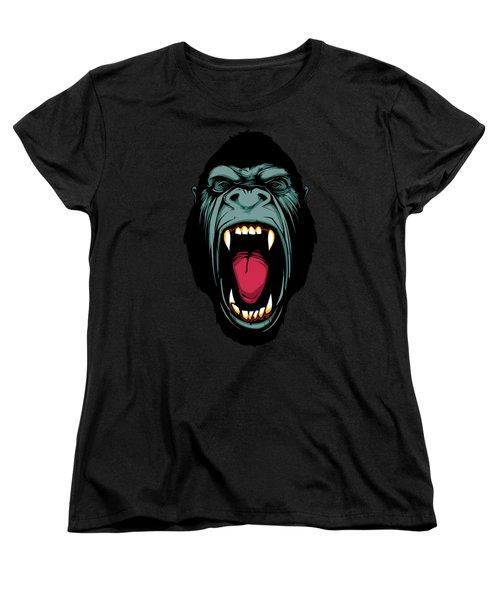 Gorilla Face Women's T-Shirt (Standard Cut) by John D'Amelio
