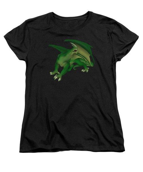 Green Dragon Women's T-Shirt (Standard Cut) by Gaynore Craps